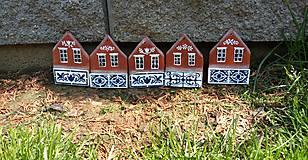 Dekorácie - Maľované domčeky 3 - 11982728_