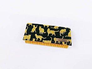 Peňaženky - Peňaženka egyptské mačky - 11985873_