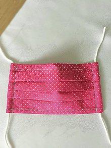 Rúška - Skladaná detská rúška s drôtikom - 11983710_