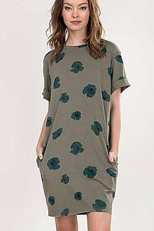 Šaty - ŠATY OPIUM GREEN - 11984722_
