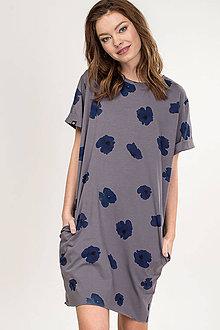 Šaty - ŠATY OPIUM BLUE - 11984779_
