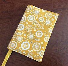 Papiernictvo - obal na knihu slnečný kúpeľ - 11985471_