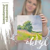 Kurzy - AKRYL: návod pre 2 krajinky (video) - 11984942_