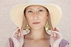 Náušnice - Emma - svetlo žlté - Ručne šité šujtášové náušnice - Soutache earrings - 11984067_
