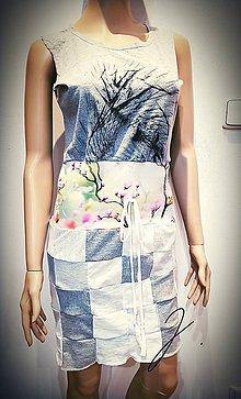 Šaty - Dámske šaty - kocky ;) - 11986700_