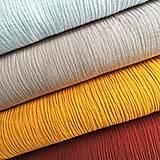 Textil - jednofarebný 100 % bavlnený, odtiene na výber, šírka 130 cm - 11983285_
