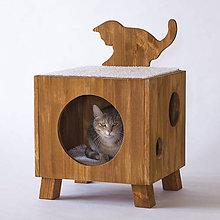 Pre zvieratká - Mačací domček - 11985865_