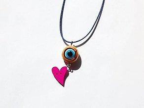Náhrdelníky - Recy náhrdelník - Pestrofarebný - 11985837_