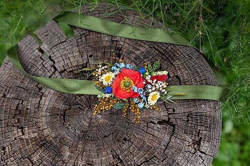 """Kvetinový opasok """"slovanská svadba"""""""