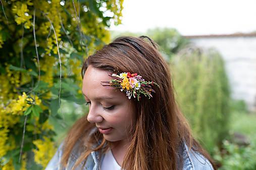 """Kvetinový hrebienok """"natrhám si šťastie"""" - menší"""