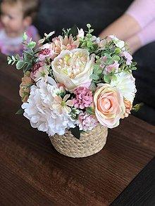 Dekorácie - Dekoracia kvety - 11986552_