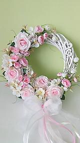 Dekorácie - Svadobny veniec Lásky čas - 11984297_