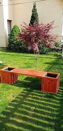 Nábytok - Kvetináčová lavička - 11987369_