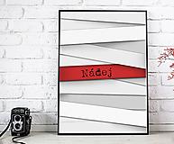 Obrázky - Nádej - art print autorskej ilustrácie - 11982833_