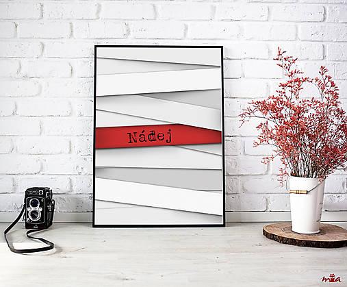 Nádej - art print autorskej ilustrácie