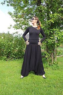 Nohavice - Čierne na želanie - 11987212_