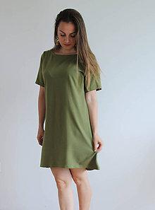 Šaty - Šaty z bavlneného úpletu - aj v BIO kvalite - 11984693_