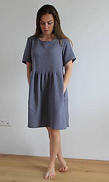 Šaty - Šaty Amálka z mušelínu - 11984871_
