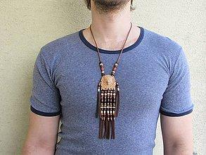 Náhrdelníky - Indiánsky náhrdelník - 11984409_
