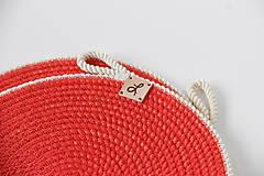 Úžitkový textil - Prostírání červená - 11991683_