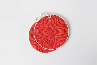 Úžitkový textil - Prostírání červená - 11991682_