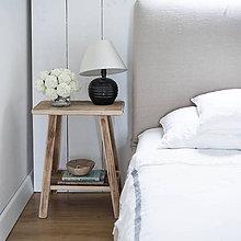 Nábytok - stolík s poličkou - 11991872_