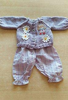 Hračky - Včielka oblečenie pre 48 cm bábiku. - 11991107_