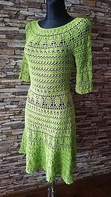 Šaty - Háčkované šaty na želanie - 11989492_