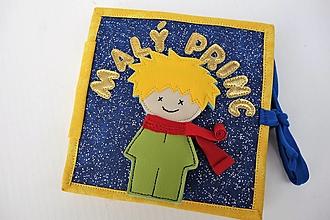 Hračky - Malý princ - quiet book - 11991594_