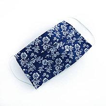 Rúška - DVOJVRSTVOVÉ bavlnené rúško na tvár - 100% bavlna - textilné - rúška - 11989724_