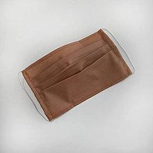 Rúška - Dvojvrstvové bavlnené rúško na tvár - 100% bavlna - textilné - rúška - 11989730_