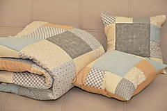 Úžitkový textil - Sivo béžový - 11987713_