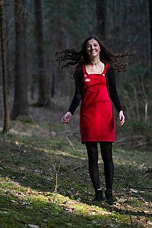 Šaty - Menčestrové šaty - 11988643_