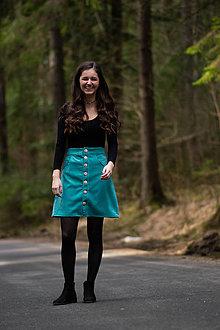 Sukne - Menčestrová suknica - 11988860_
