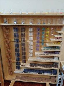 Nezaradené - Kompletný perlový materiál - Montessori - 11991535_