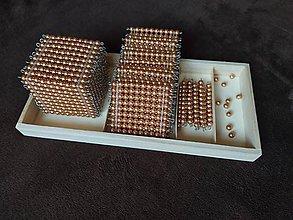Nezaradené - Zlatý perlový materiál - 11991559_