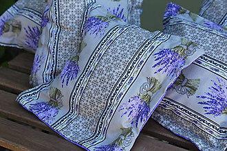 Úžitkový textil - Levanduľový liečivý vankúš - 11995755_
