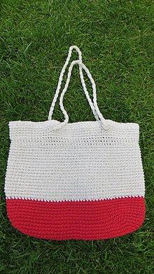 Veľké tašky - plážová veľká taška - 11993812_
