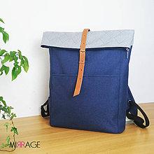 Batohy - Zoe roll top backpack n.9 - 11994427_