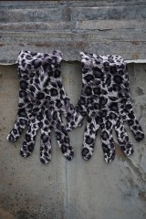Rukavice - Úpletové rukavice škvrnité - 11995524_