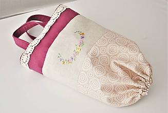 Úžitkový textil - Závesná taštička na plastové vrecúška a iné - 11995825_