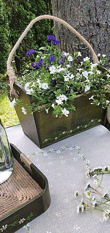 Nádoby - Kvetináč - zelená záhrada - 11995144_