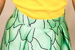 Sukne - Maxi sukňa Tancujúci drak - 11996240_