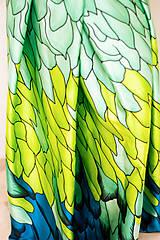 Sukne - Maxi sukňa Tancujúci drak - 11996241_