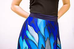 Sukne - Maxi sukňa Ľadový drak - 11996274_
