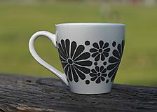 Nádoby - kvetinová šálka - sivá/a - 11996499_