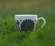 Nádoby - kvetinová šalka - sivá/b - 11996507_