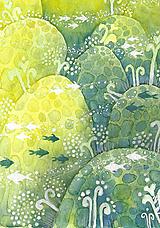 Obrazy - mini akvárium II - 11998303_