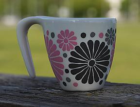 Nádoby - kvetinový hrnček - 11996469_