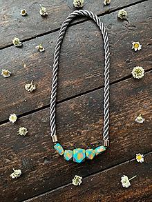 """Náhrdelníky - Náhrdelník s korálky """"Picasso"""" - 12000130_"""